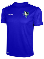 CENTRO SOCCER CS ONE SHORT SLEEVE JERSEY  --    ROYAL BLUE