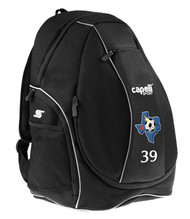 CENTRO SOCCER CS UTILITY BACKPACK  --   BLACK COMBO