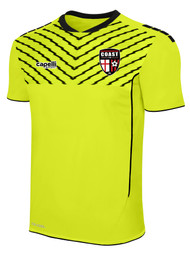 COAST FA SPARROW SHORT SLEEVE GOALIE JERSEY -- NEON YELLOW BLACK