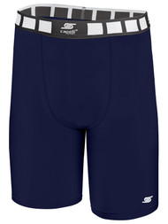 MERIDEN THERMADRY COMPRESSION SHORTS   -- NAVY