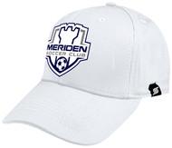 MERIDEN CS ONE TEAM BASEBALL CAP   --  WHITE