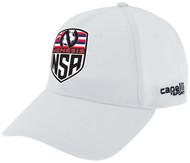 NEMESIS SA TEAM BASEBALL CAP --  WHITE BLACK