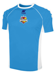 COLONIE SC SHORT SLEEVE HOME JERSEY --  SKY BLUE WHITE