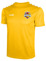 COLONIE SC SHORT SLEEVE ALTERNATE JERSEY --  GOLD