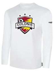COLONIE SC BASICS LONG SLEEVE T-SHIRT    --  WHITE