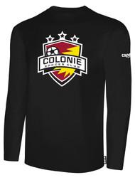 COLONIE SC BASICS LONG SLEEVE T-SHIRT    --  BLACK WHITE