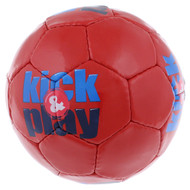 KICK & PLAY MINI SOCCER BALL -- RED COMBO