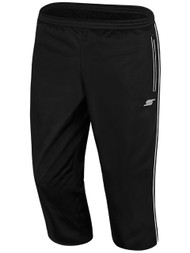 STARS PREMIER 3/4 TRAINING PANTS --  BLACK WHITE
