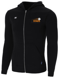 STARS PREMIER ZIP UP HOODIE --  BLACK