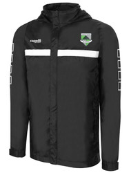 CSA SPARROW RAIN JACKET -- BLACK WHITE