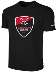 LOUDOUN COTTON T SHIRT  -- BLACK