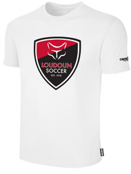 LOUDOUN COTTON T SHIRT  -- WHITE