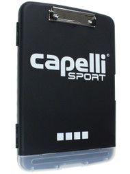 CAPELLI SPORT  ALL  WEATHER   COACHING ORGANIZER   --   BLACK