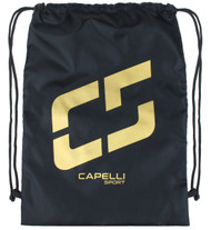 CAPELLI  SPORT  PROMO  SACK PACK --  BLACK  GOLD  METALLIC