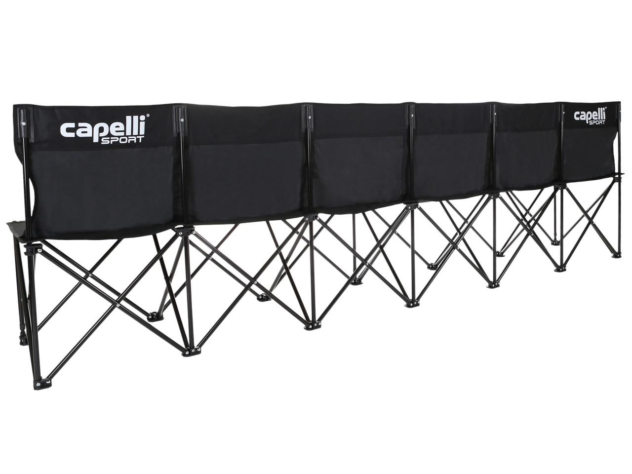 Swell Folding 6 Seats Team Bench Black Dailytribune Chair Design For Home Dailytribuneorg