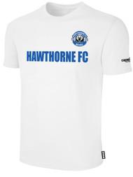 HAWTHORNE FC BASICS TEE SHIRT  --   WHITE