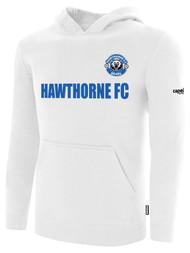 HAWTHORNE FC BASICS FLEECE HOODIE --  WHITE