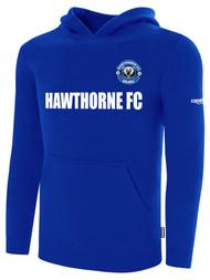 HAWTHORNE FC BASICS FLEECE HOODIE --  ROYAL BLUE WHITE