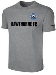 HAWTHORNE FC BASICS TEE SHIRT  --   LIGHT HEATHER GREY