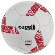 ELITE SA TRIBECA COMPETITION ELITE THERMAL BONDED SOCCER BALL --  WHITE RED