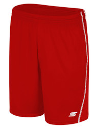 BIG CAT RAVEN SHORT -- RED WHITE