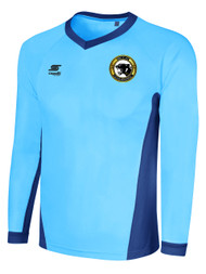 BIG CAT RAVEN LONG SLEEVE GOALIE JERSEY -- SKY BLUE