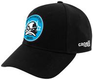 RUSH  WISCONSIN WEST CS BASEBALL CAP --  BLACK WHITE