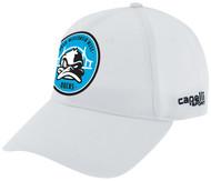 RUSH  WISCONSIN WEST CS BASEBALL CAP --  WHITE BLACK