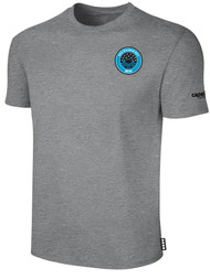 RUSH WISCONSIN WEST  DUCKS COMPETITIVE BASICS TEE SHIRT --  LIGHT HEATHER GREY