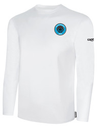 RUSH WISCONSIN WEST DUCKS COMPETITIVE BASICS LONG SLEEVE TEE  -- WHITE BLACK