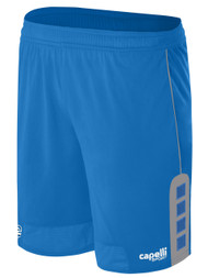 CAJUN RUSH LAFAYETTE CONDOR MATCH HOME SHORTS  --  BLUE GREY
