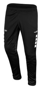 CAJUN RUSH LAFAYETTE SPARROW TRAINING PANTS  --  BLACK WHITE