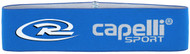 CAJUN RUSH WIDE ELASTIC HEADWRAP -- BLUE