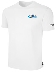 CAJUN RUSH SHORT SLEEVE TEE SHIRT -- WHITE