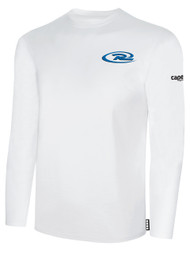 CAJUN RUSH LONG SLEEVE TSHIRT -- WHITE