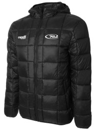 CAJUN RUSH BASICS LIGHT WEIGHT JACKET--BLACK WHITE