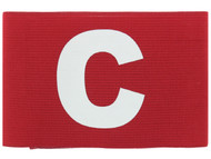 COLTS NECK CAPTAIN  ARM BAND   --   RED