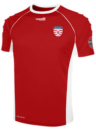MONTANA YOUTH  GRIFFON JERSEY   -- RED WHITE