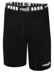 MONTANA YOUTH THERMADRY COMPRESSION SHORTS  --    BLACK