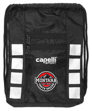 MONTANA YOUTH 4 CUBE SACK PACK    --     BLACK SILVER