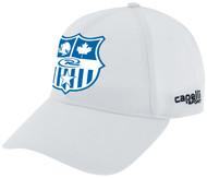 BRAVO CS II BASEBALL CAP CO-BRANDED   -- WHITE BLACK