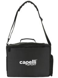 BRAVO 4 CUBE COACH MEDICAL BAG WITH EXTERIOR ZIP POCKETS-- BLACK SILVER