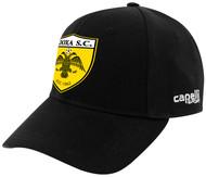 DOXA SC  TEAM BASEBALL CAP --  BLACK WHITE
