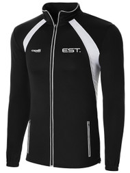 ELITE SPORT TRAINING RAVEN TRAINING JACKET  -- BLACK WHITE