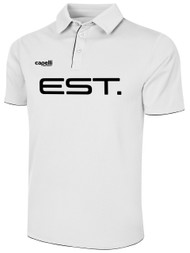 ELITE SPORT TRAINING BASICS POLY POLO  -- WHITE