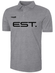 ELITE SPORT TRAINING BASICS COTTON POLO -- LIGHT HEATHER GREY