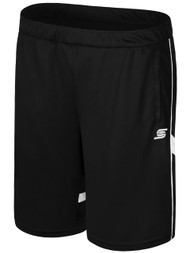 ELITE SPORT TRAINING RAVEN TRAINING SHORTS WITH POCKETS  -- BLACK WHITE