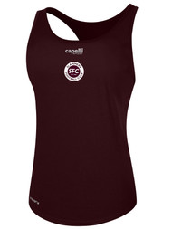 SLAMMERS CDA WOMENS BASICS RACER BACK TANK -- MAROON -- IS ON BACK ORDER, WILL SHIP BY 2/8/21