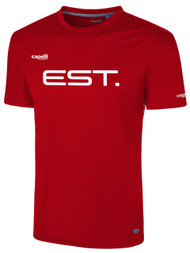 ELITE SPORT TRAINING  BASICS I SHORT SLEEVE TRAINING TOP -- RED