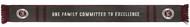 """SLAMMERS FC KNIT FAN SCARF    7.5""""W x 58""""L--  MAROON DARK GREY"""